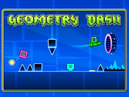 Capture d'écran Geometry Dash