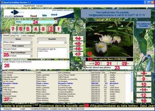 Capture d'écran Aquatechnobase