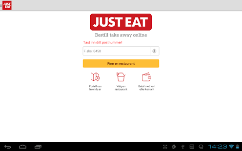 Capture d'écran JUST EAT – Takeaway levert