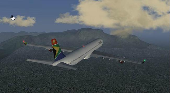 Capture d'écran Flightgear