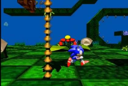 Capture d'écran Sonic X-Treme
