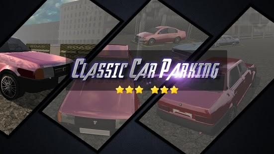 Capture d'écran Classic Car Parking 3D