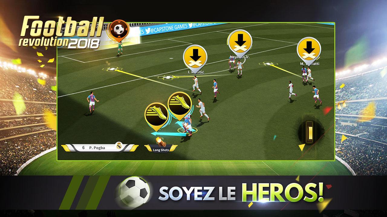 Capture d'écran Football Revolution 2018 Android