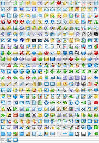 Capture d'écran XP Artistic Icons