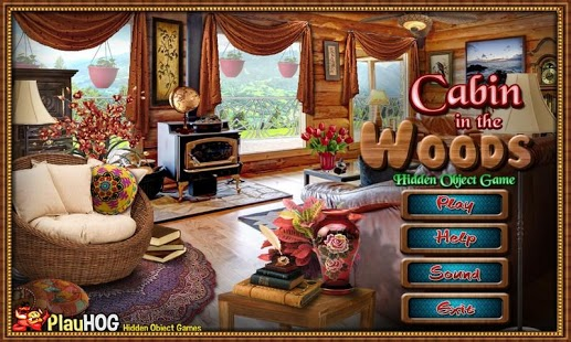 Capture d'écran Cabin in Woods – Hidden Object