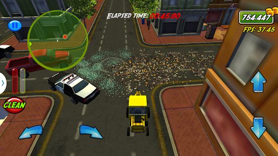 Capture d'écran City Sweeper – Clean it Fast!