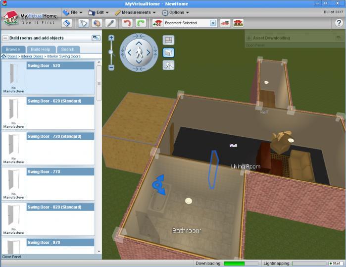 Capture d'écran My Virtual Home