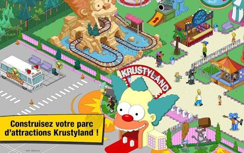 Capture d'écran Les Simpson™ Springfield