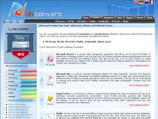 Capture d'écran AccessForms2Web (PHP and MySQL Editon)