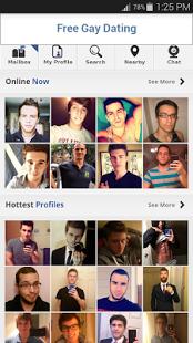 Capture d'écran Free Gay Dating