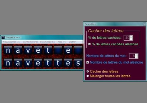 Capture d'écran Trouver le mot + grilles