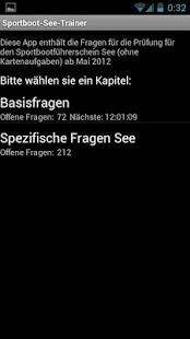 Capture d'écran Permis bateau côtier allemand