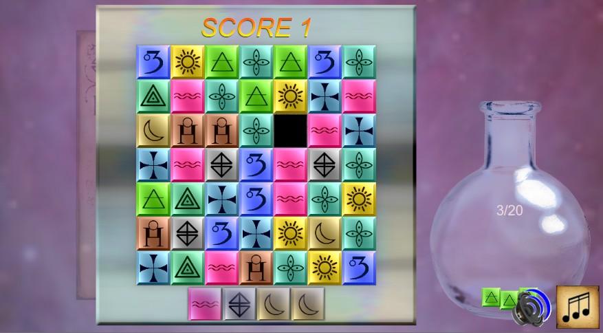 Capture d'écran AlchemystOpus