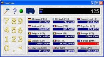 Capture d'écran CoolEuro
