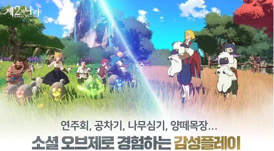Capture d'écran Ni No Kuni : Cross Worlds