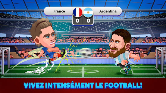 Capture d'écran Head Soccer 2018 Android