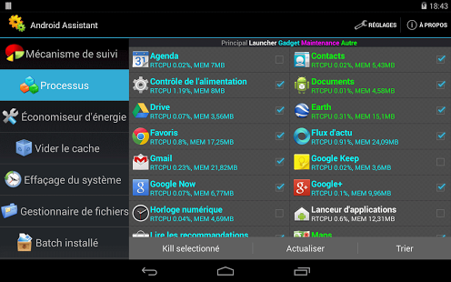 Capture d'écran Assistant Pro for Android