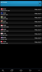 Capture d'écran Global Clock – Free