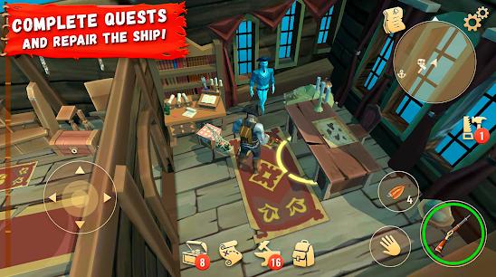 Capture d'écran Pirate Legends: Survival Island Android