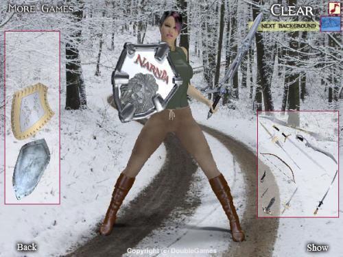 Capture d'écran Narnia 3 Dress Up Game