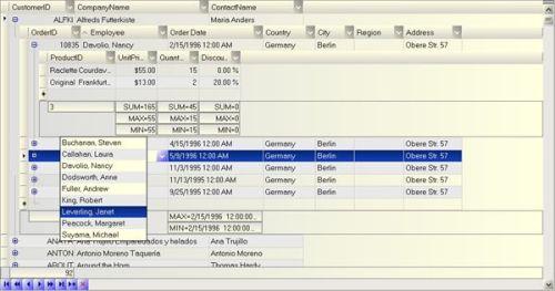 Capture d'écran FlyGrid.Net