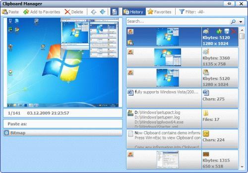 Capture d'écran Comfort Clipboard Pro