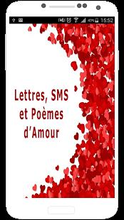 Capture d'écran Lettres, Sms et Poèmes