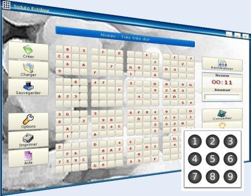 Capture d'écran Sudoku Entreme