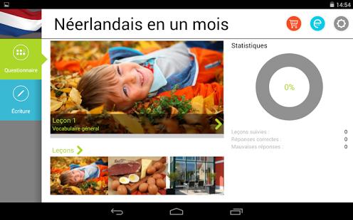 Capture d'écran Néerlandais en un mois Free