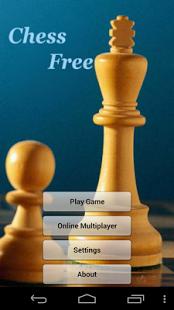 Capture d'écran Chess Free (Offline/Online)