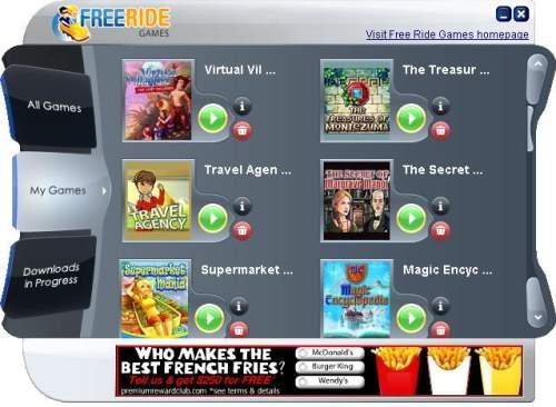 Capture d'écran Free Ride Games Free Game Downloads