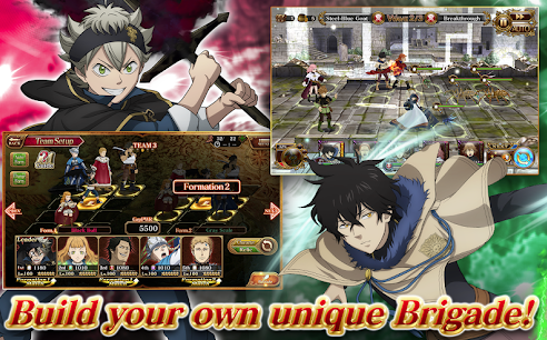 Capture d'écran Black Clover Phantom Knights Android
