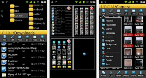 Capture d'écran eFile Android