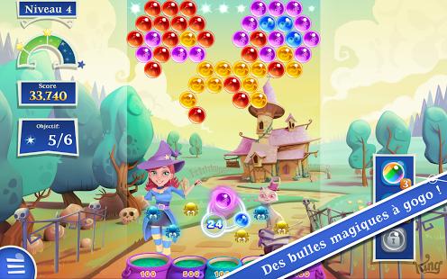 Capture d'écran Bubble Witch Saga 2 Facebook