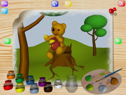 Capture d'écran Animals Coloring Book