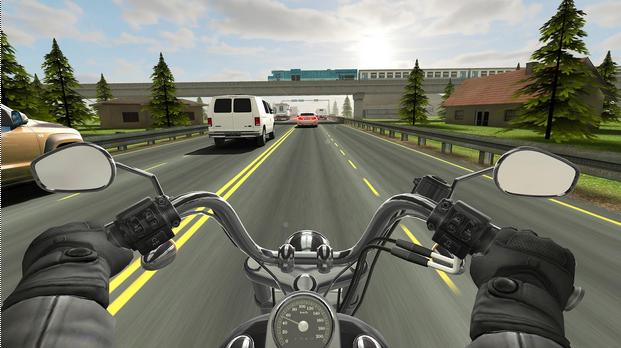 Capture d'écran Traffic Rider – Android