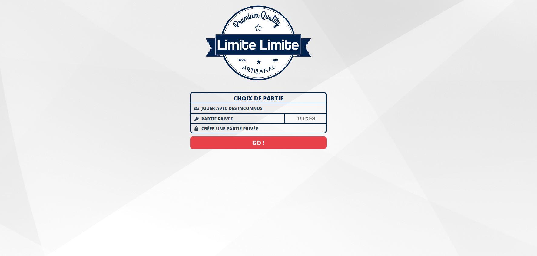 Capture d'écran Limite Limite en ligne