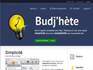 Capture d'écran Budjhete Mac