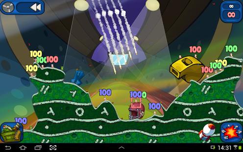 Capture d'écran Worms 2: Armageddon