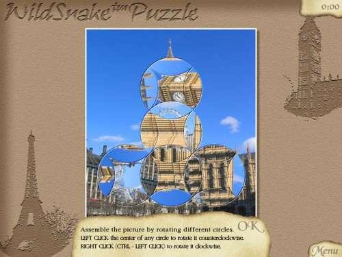 Capture d'écran WildSnake Puzzle: TwistIt! – Vol.1