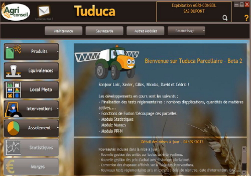Capture d'écran Tuduca