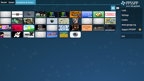 Capture d'écran PPSSPP – PSP emulator