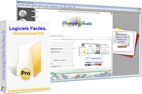 Capture d'écran Devis Factures Pro