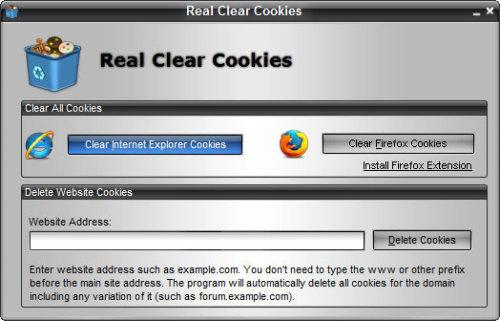 Capture d'écran Real Clear Cookies