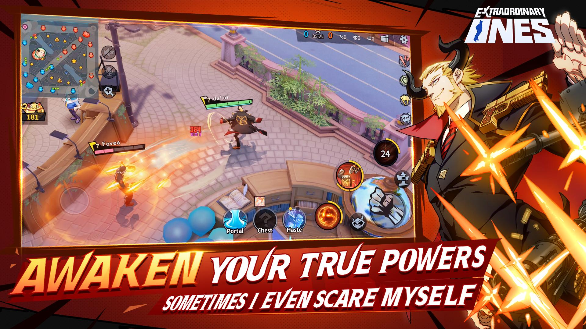 Capture d'écran Extraordinary Ones: Anime-style 5V5 MOBA Android
