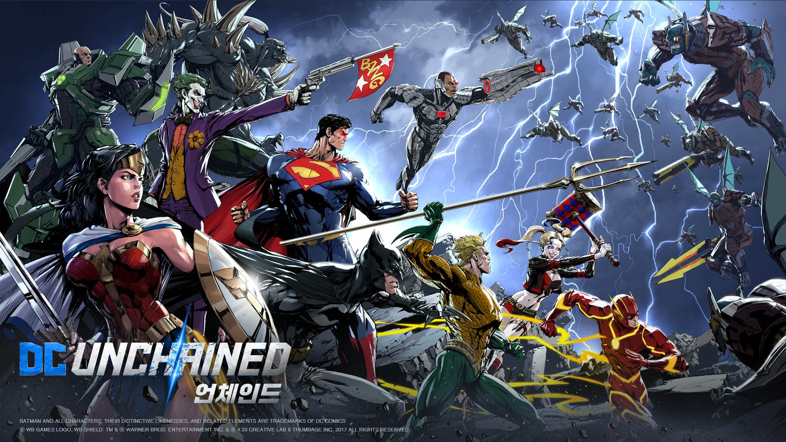 Capture d'écran DC Unchained Android
