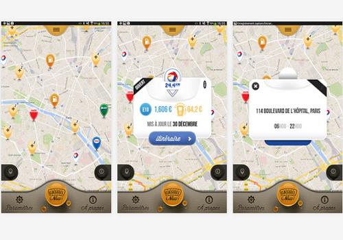 Capture d'écran Gasoil Now iOS