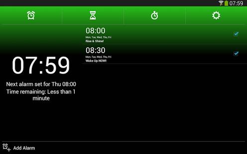 Capture d'écran Réveil Xtreme + Minuterie Android