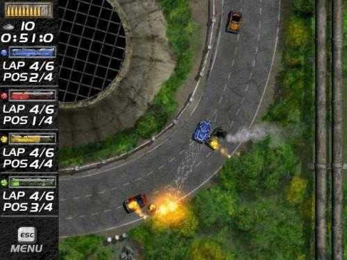 Capture d'écran Mad Cars