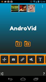 Capture d'écran AndroVid Vidéo Pro
